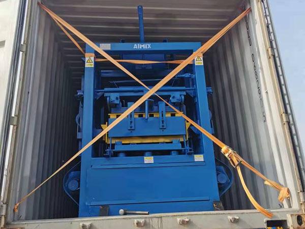 Transporting Brick Machine to Jamaica