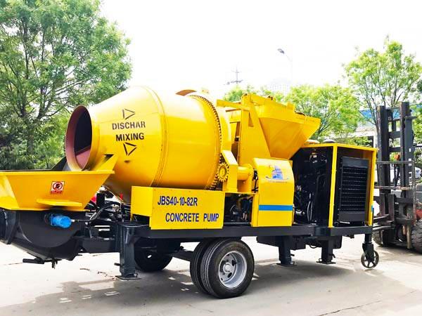Diesel Portable Concrete Mixer Pump