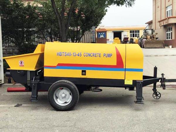 Diesel Portable Concrete Pump