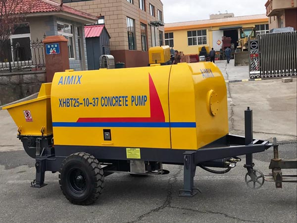 Electric Portable Concrete Pump
