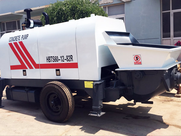 diesel trailer concrete pump for sale