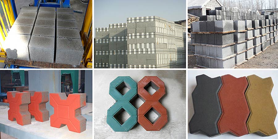 Concrete Blocks Samples