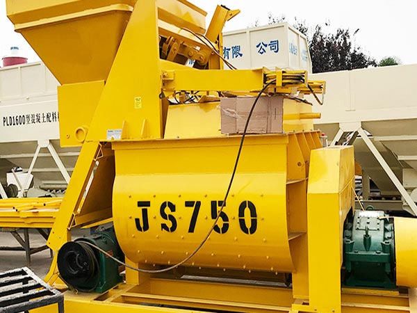 JS750 Twin Shaft Concrete Mixer