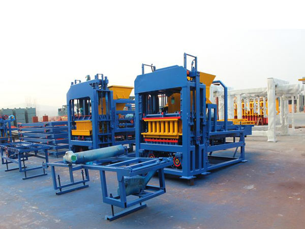 ABM-4SE Interlocking Brick Making Machine