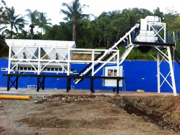 AJY25 Mini Batching Plant