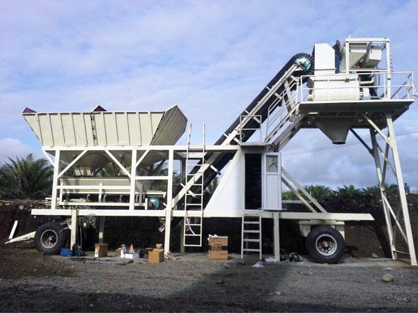 AJY25 Small Concret Plant