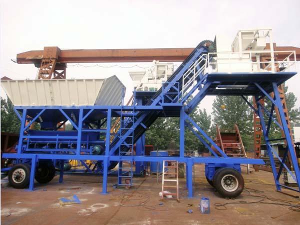 AJY25 portable concrete plant