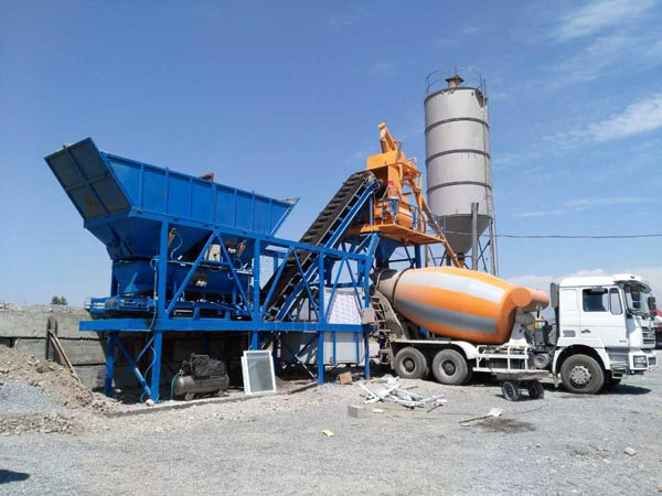 AJY35 Small Concrete Batch Plant