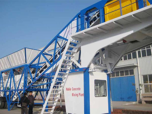 AJY50 Portable Concrete Plant for Sale