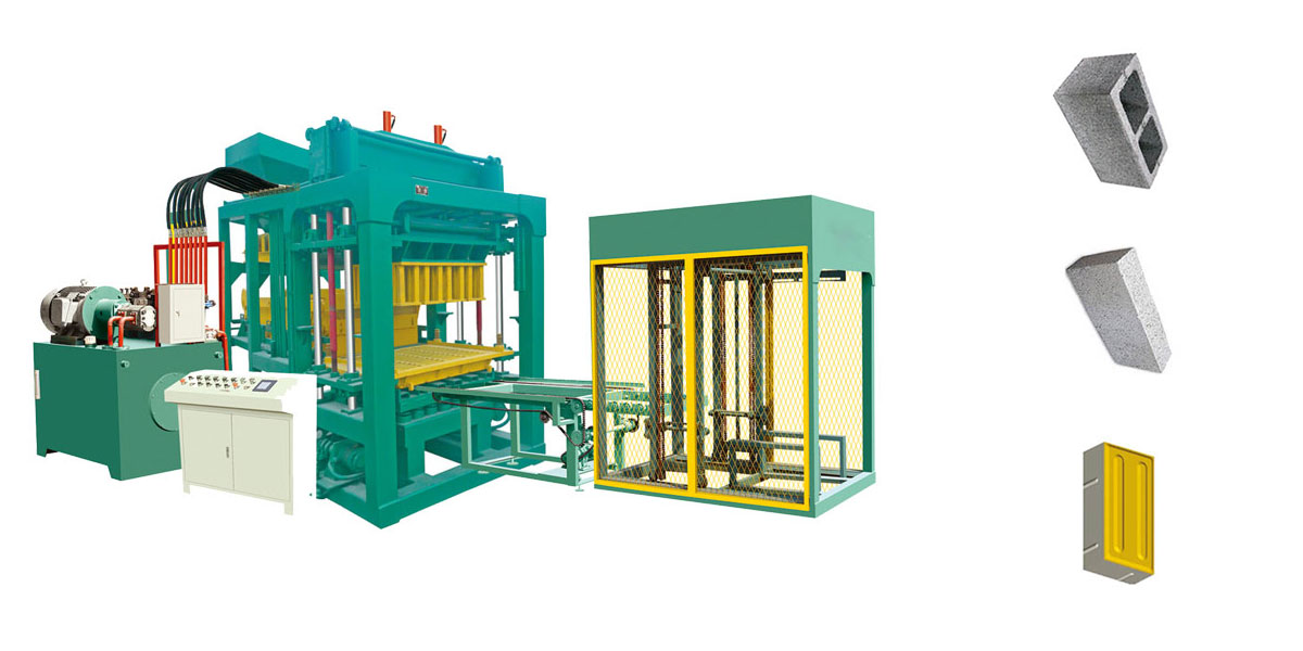 Aimix Hydraulic Block Machine