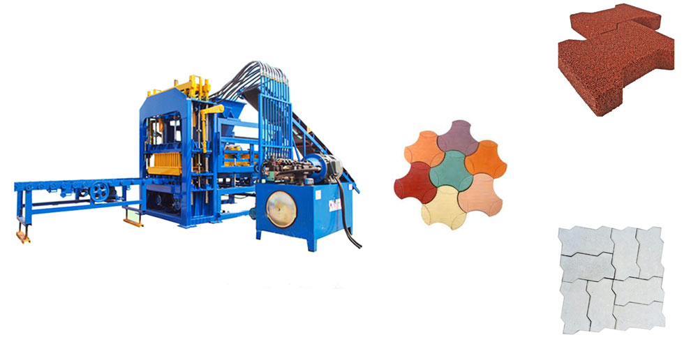 Aimix Interlocking Brick Machine