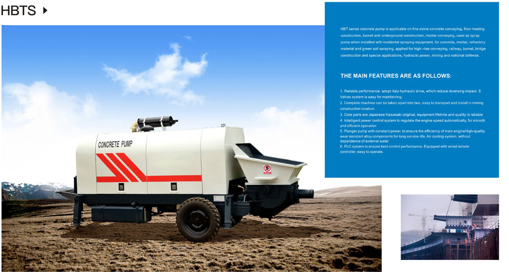 Aimix Ready Mix Concrete Pump