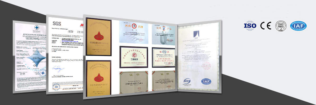 Certificates of Aimix Group