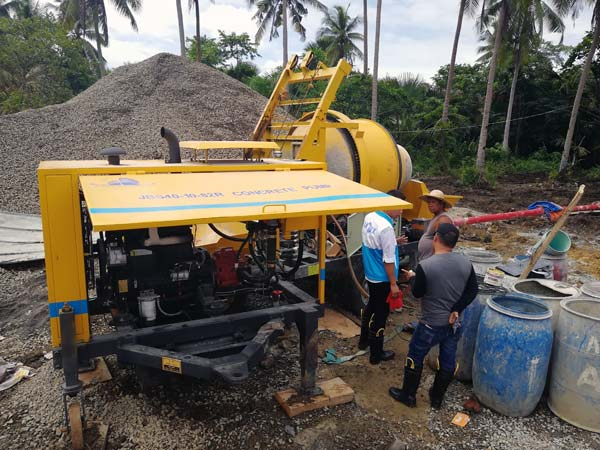 Checking Concrete Pump Machine on Sites