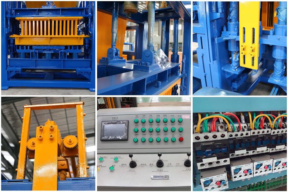 Components of Interlocking Brick Machine