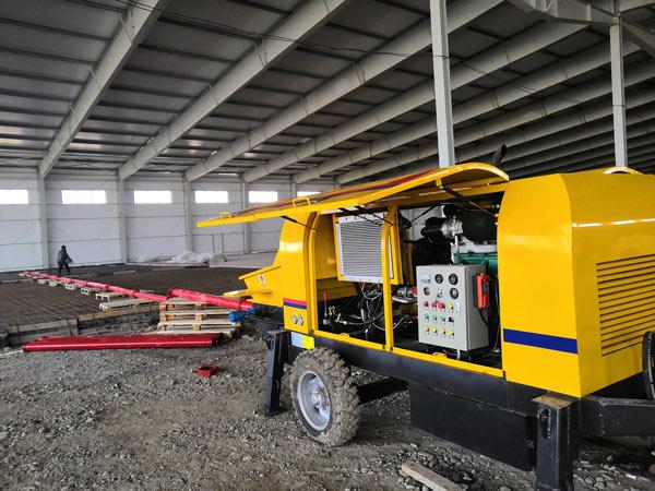 Diesel Pump on Site