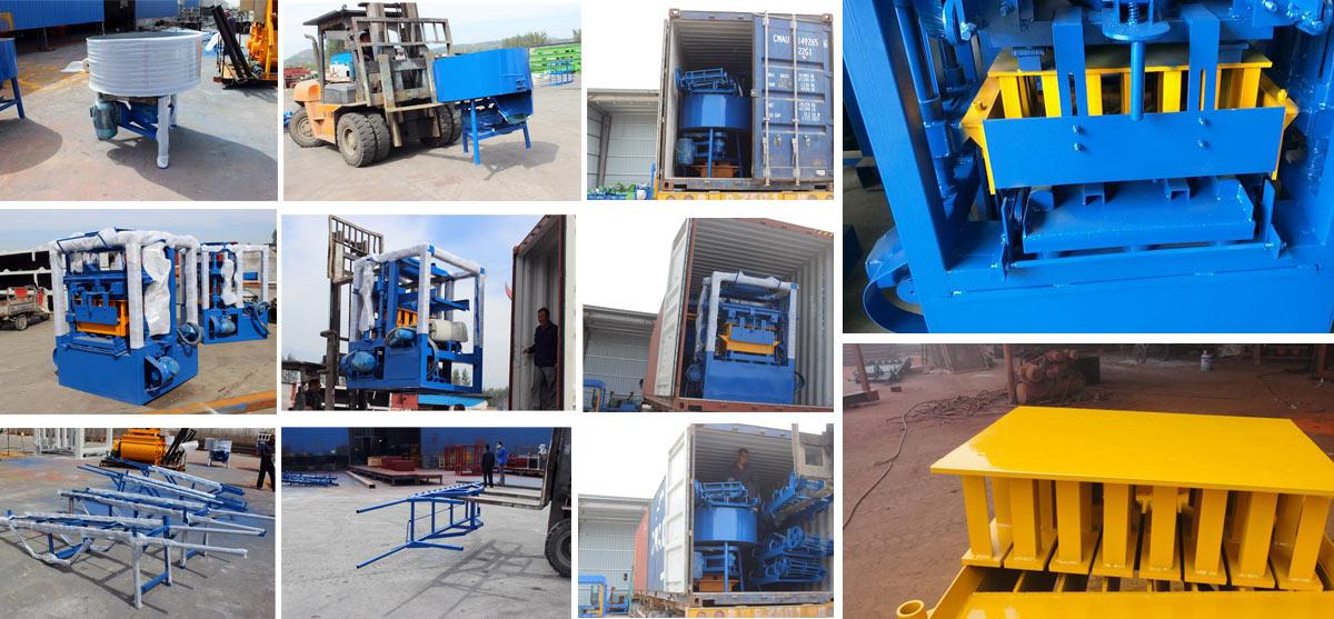 Exporting QT6-15 Hydraulic Brick Machine to Bangladesh