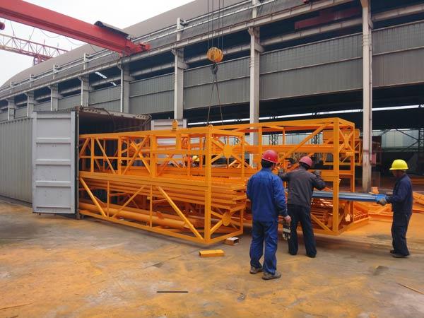 HZS25 concrete plant delivery