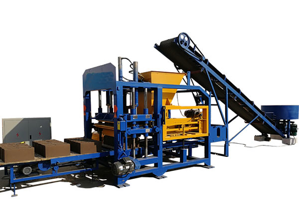 ABM-4SE Fully Automatic Block Machine