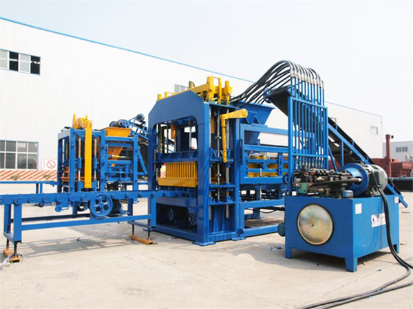 ABM-6S hollow block making machine