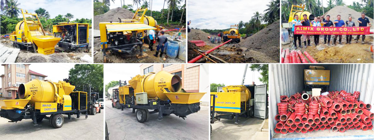 Regular Concrete Mixer Pump After-sales Service for Customers