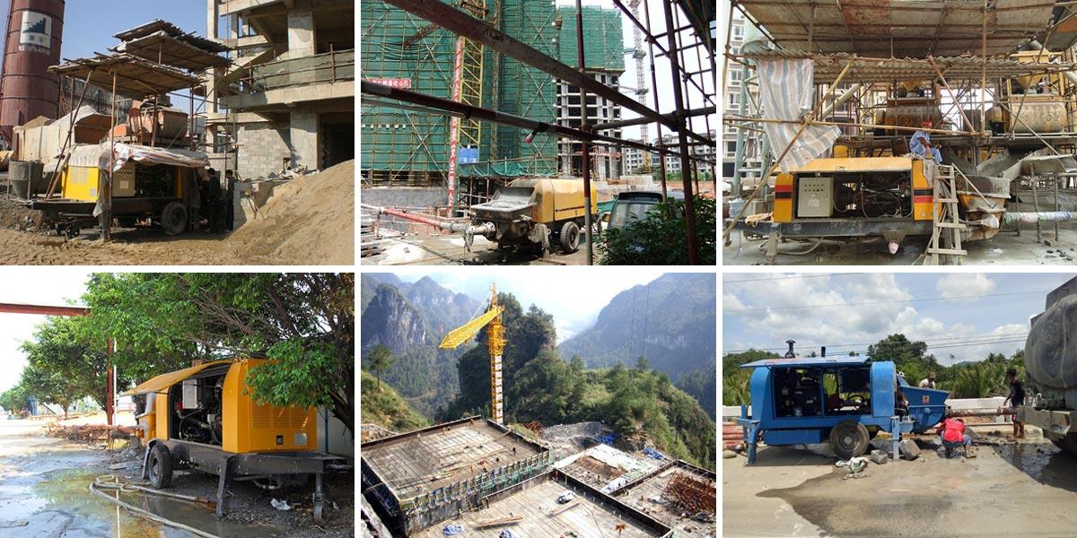 Wide Application of Concrete Pumps