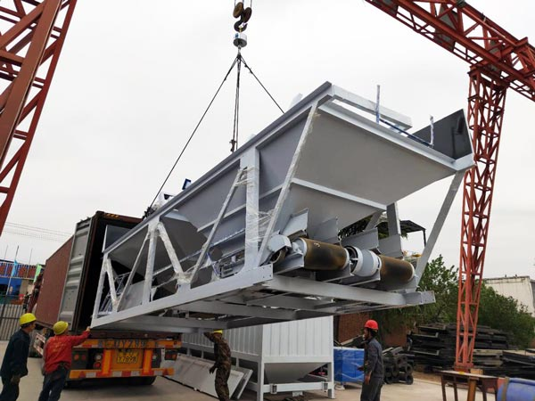 Delivering Concrete Plant to Bangladesh