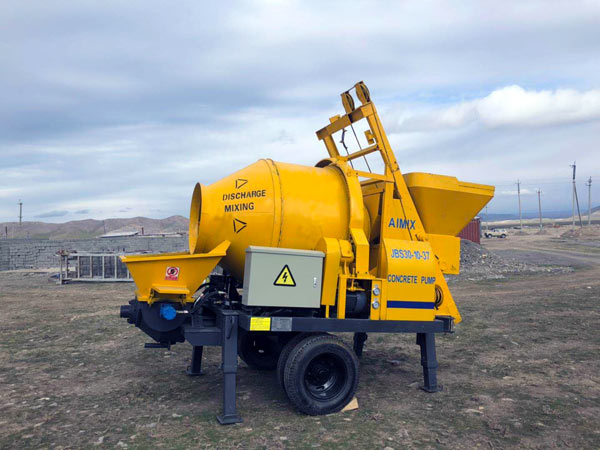 ABJZ30D Electric Concrete Mixer Pump