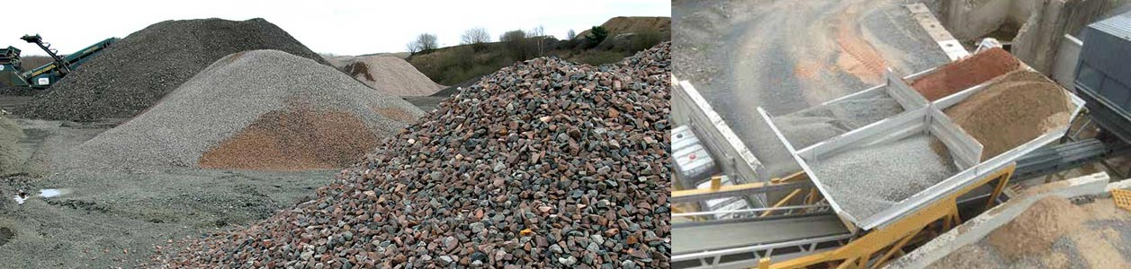 Raw Materials of Concrete Batching Plant
