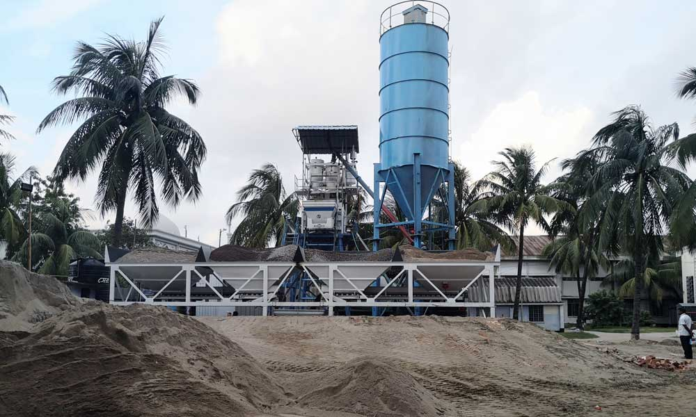 Aimix Concrete Batch Plant in Bangladesh