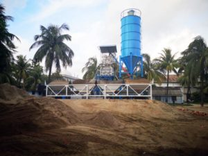 installing concrete batching plant in Bangladesh