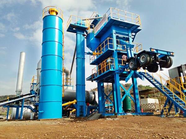 ALYQ series mobile asphalt mixing plant