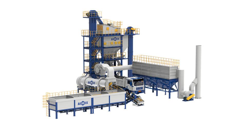 Asphalt Batch Plant Process Flow