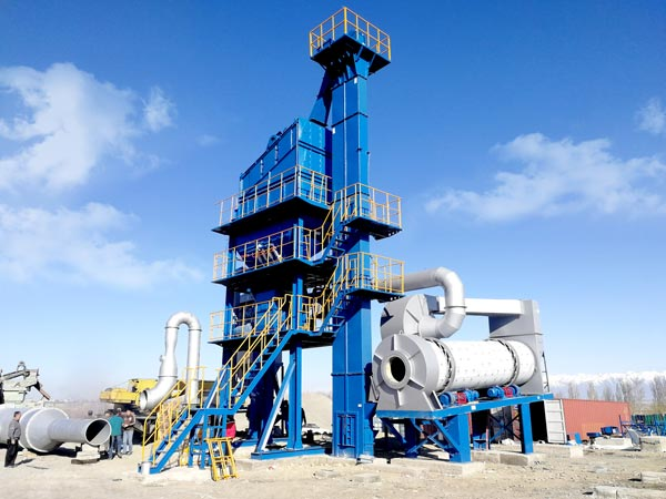 Asphalt Mix Plant in Kazakhstan