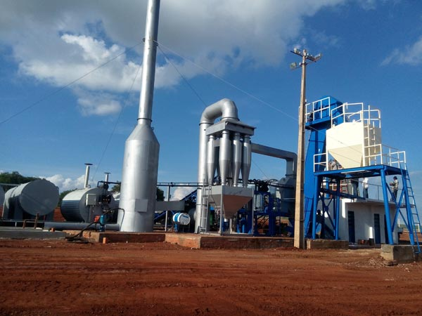 Drum Mixing Plant in Paraguay