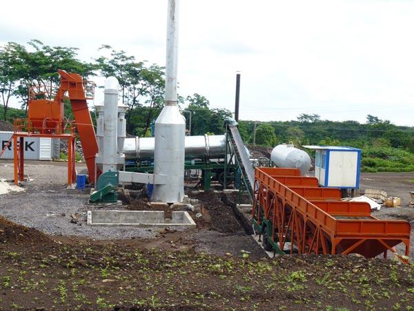 Drum Plant in Samoa