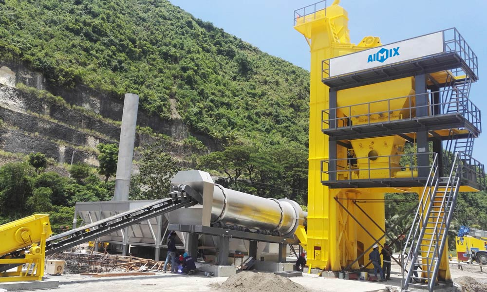 Hot Mix Asphalt Plant in Philippines