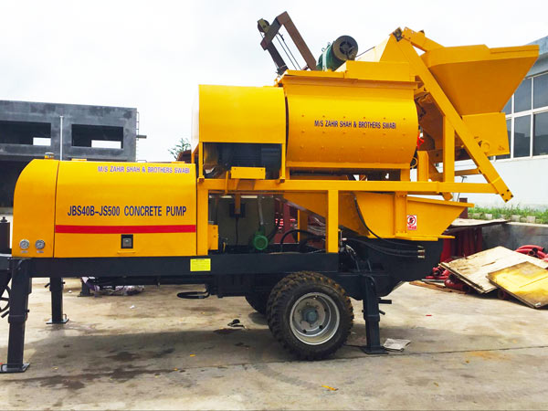 ABJS40D-JS500 Electric Concrete Mixer Pump