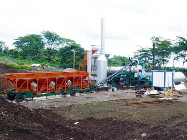 ALT series Drum Mix Bitumen Plant