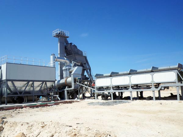 ALYQ120 Mobile Asphalt Plant