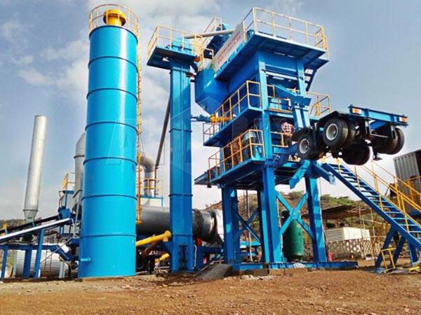 ALYQ series Mobile Bitumen Plant