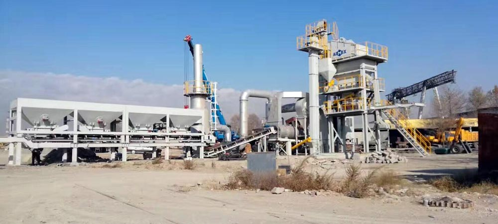 Asphalt Mobile Plant in Kazakhstan