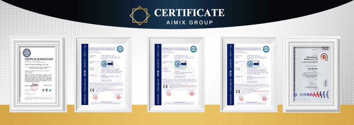 Asphalt Plant Certificates