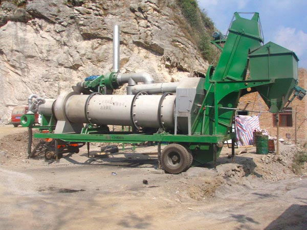 Asphalt Plant Mini in Pakistan