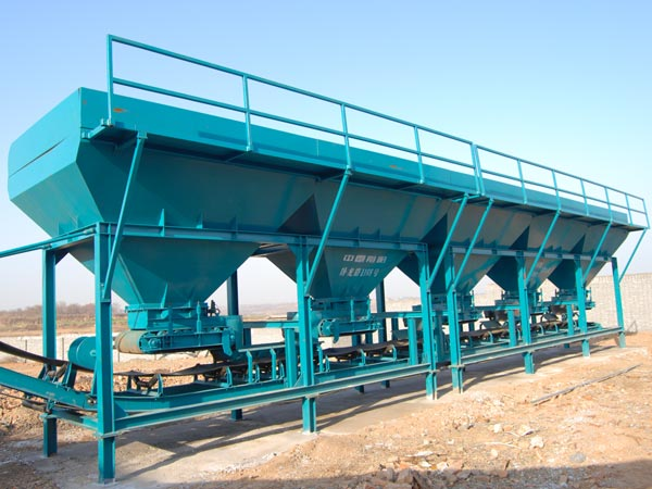 Cold Aggregate Feeding System