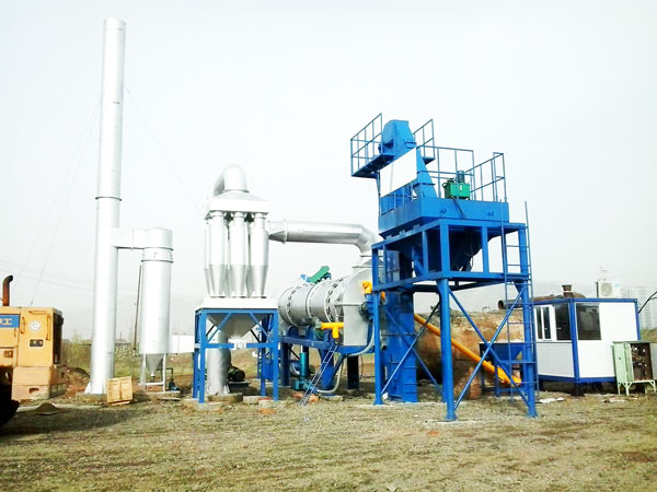 Mini Asphalt Plant in Burma