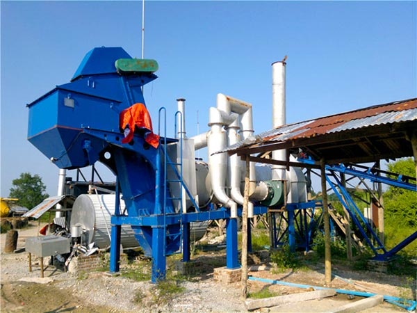 Mini Drum Mixing Plant in Indonesia