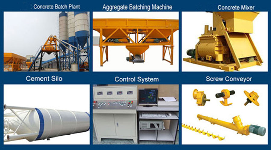 Components of Automatic Batching Plant
