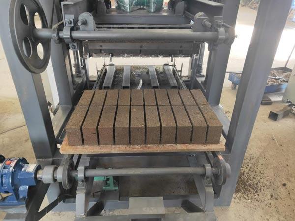 Testing Brick Machine