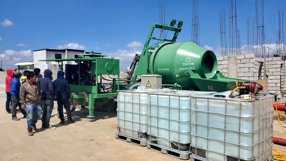 ABJZ40C Concrete Mixer Pump in The Philippines